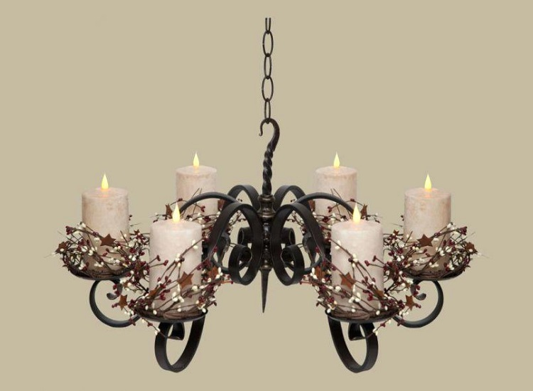 Get the Magic Back With a Candle Chandelier